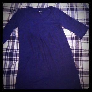 AB studio Navy Blue Sweater dress Size L